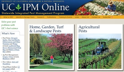 Statewide Integrated Pest Management program homepage