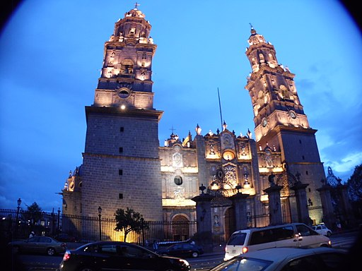 Cathedral in Morelia