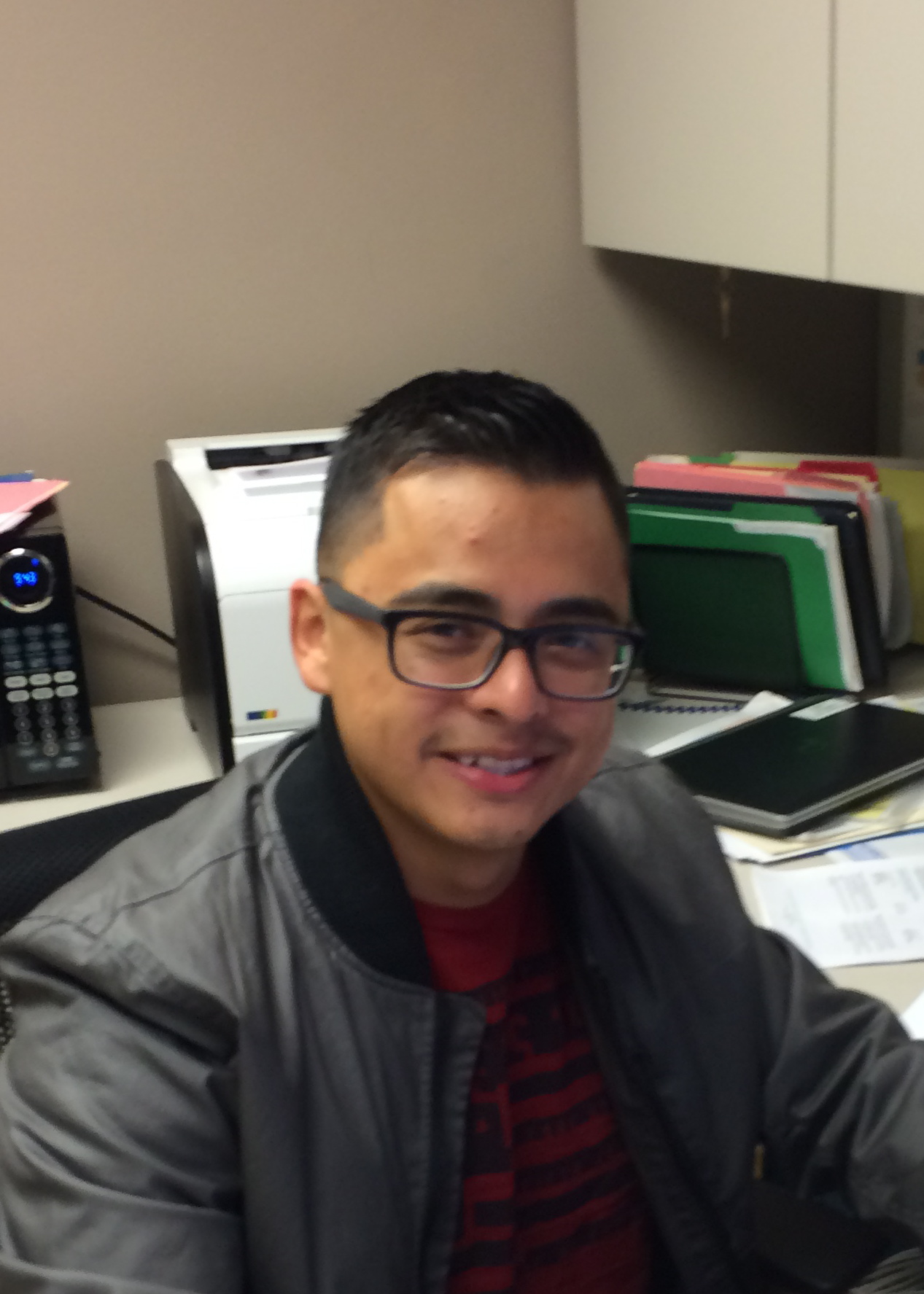 WCAHS researcher Jose Gutierrez
