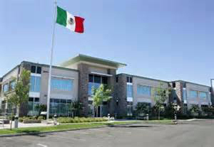 Exterior of the Mexican Consulate in Sacramento