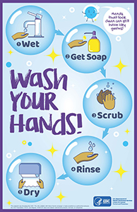 CDC Wash Your Hands handout