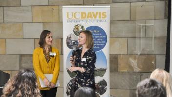 Alena Marie Uliasz and Savannah Mack answers questions about their research