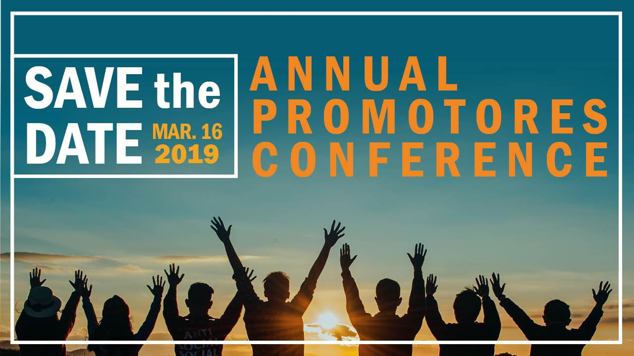 Promotores Conference Save the Date Image