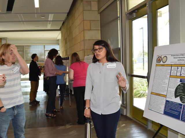 Kimberly Prado Presents Research Poster