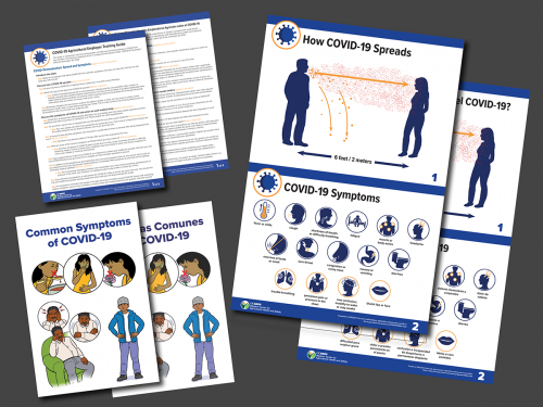 COVID-19 Training Materials Thumbnails